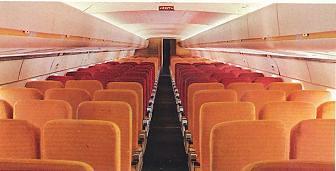 Art Contrarian: Douglas DC-8 Interiors