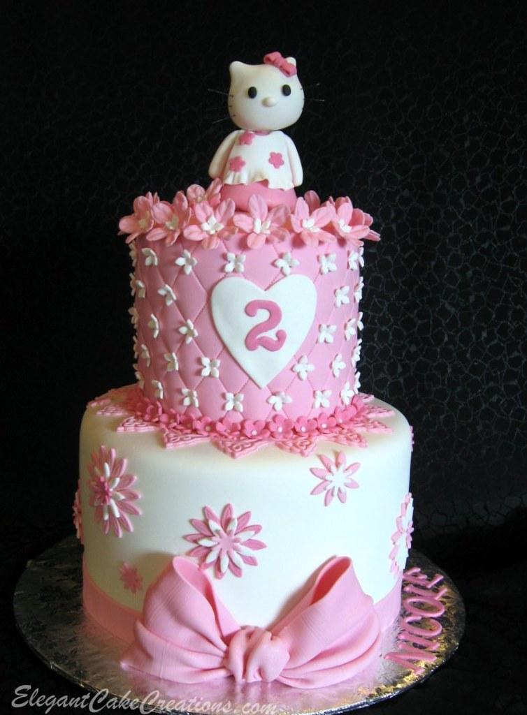 Cake Design Hello Kitty : Hello Kitty Cake My version of Toni s design www.flickr ...
