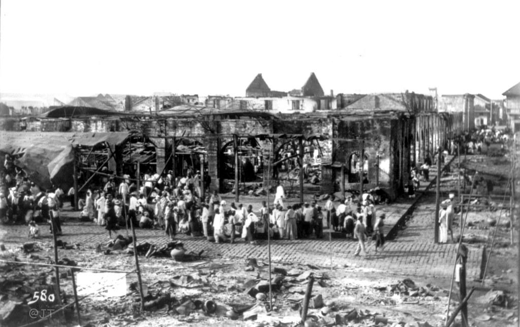 Ruins Of Old Market Manila Philippines 1899 I Dont