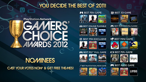 GCA: Gamer's Choice Awards 2012 | by PlayStation.Blog