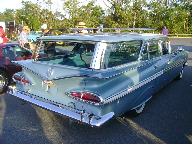 Aaca Hershey Fall Meet Photos >> 1959 Chevy Nomad | AACA Eastern Division Fall Meet, Hershey,… | Flickr