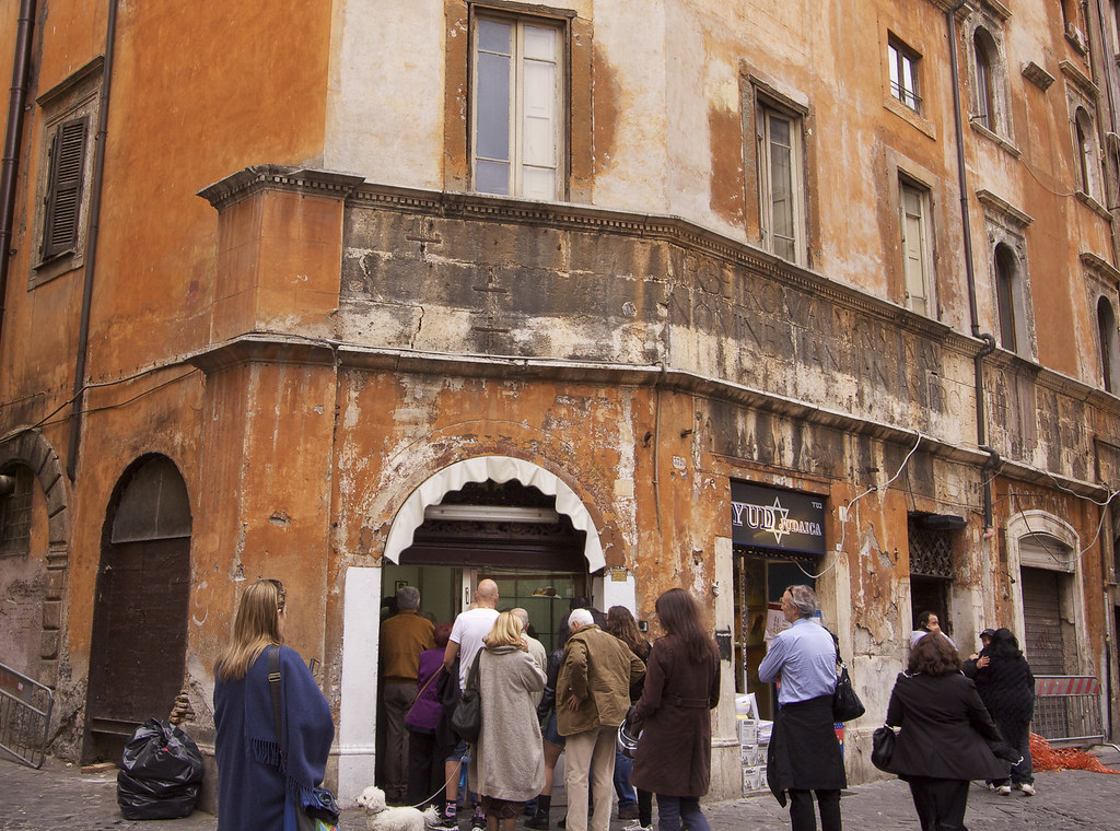 Bakery In The JEwish Ghetto Rome 2 Bgblogging Flickr
