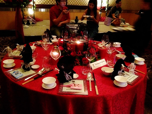 Love This Table Setting Black And Red Dayna Ngai Flickr
