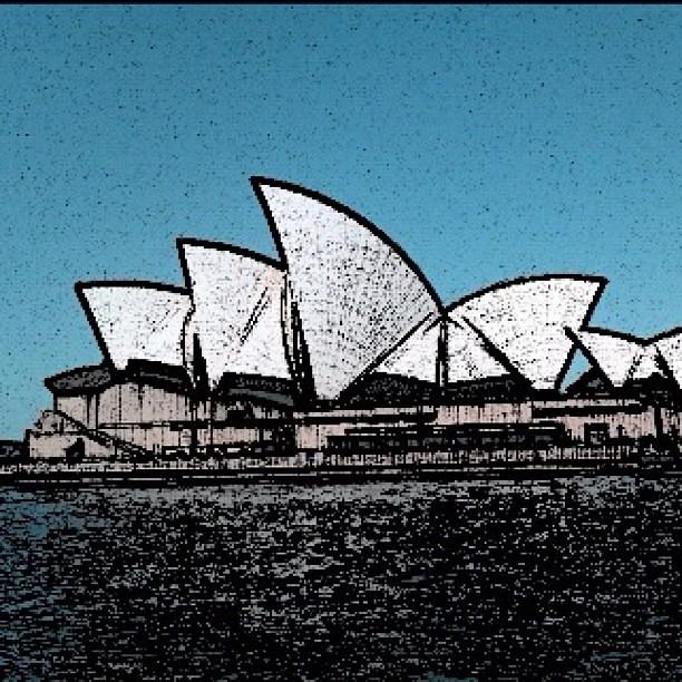 Opera House Cartoon Sydney Opera House Using