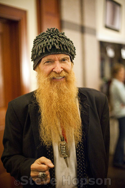 Billy gibbons no beard