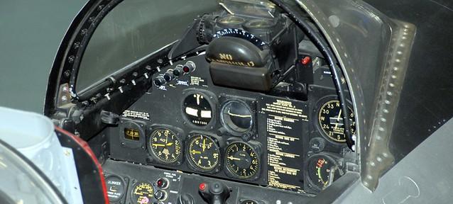 P-80 cockpit
