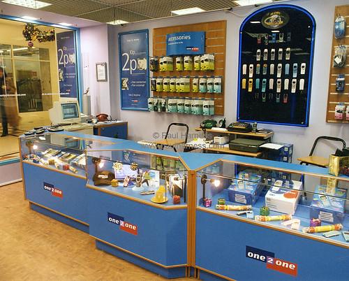 One2one shop interior 2 transparency film for shopfitting flickr - Mobile shop interior design ideas ...