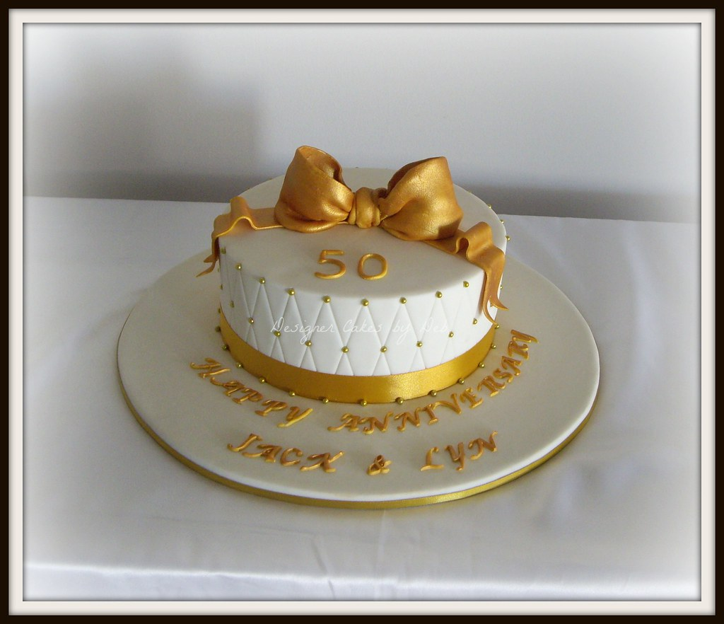 golden wedding cake messages golden wedding anniversary cake for a 50th wedding 14762