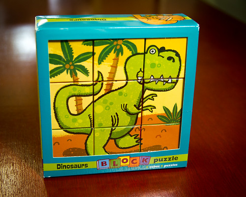Mudpuppy Dinosaur Block puzzle | by Mr. Biggs