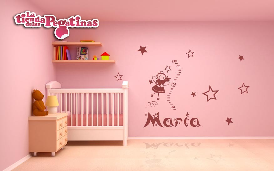 Vinilos decorativos de pared infantiles in 0113 kit hada c Vinilos de pared infantiles