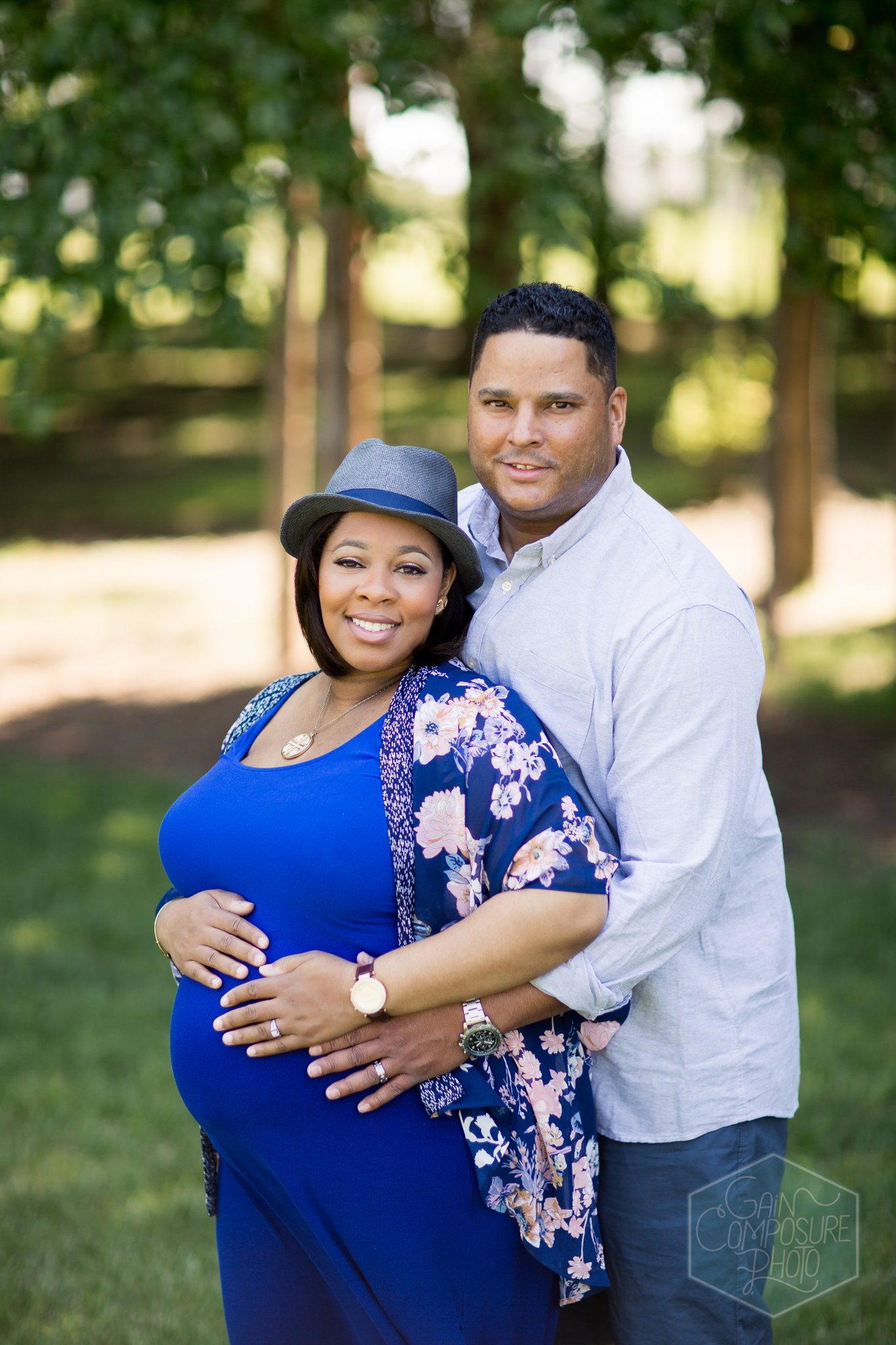 maternity couple mom and dad greensboro photography