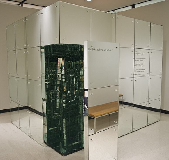 Mirror Room: Exterior, Room No 2 (The Mirrored Room), Lucas Samaras, 19