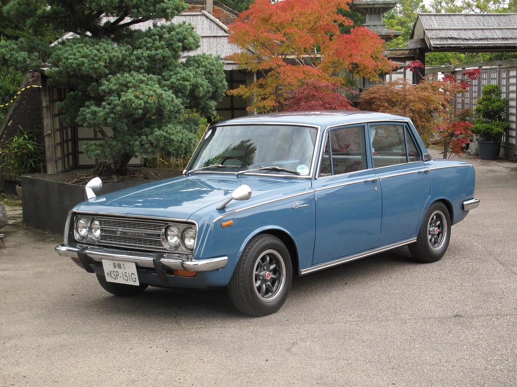 Toyota Corona Deluxe Rt40 1968 My 1968 Toyota Corona