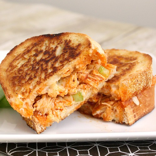 Buffalo Chicken Grilled Cheese | by Tracey's Culinary Adventures