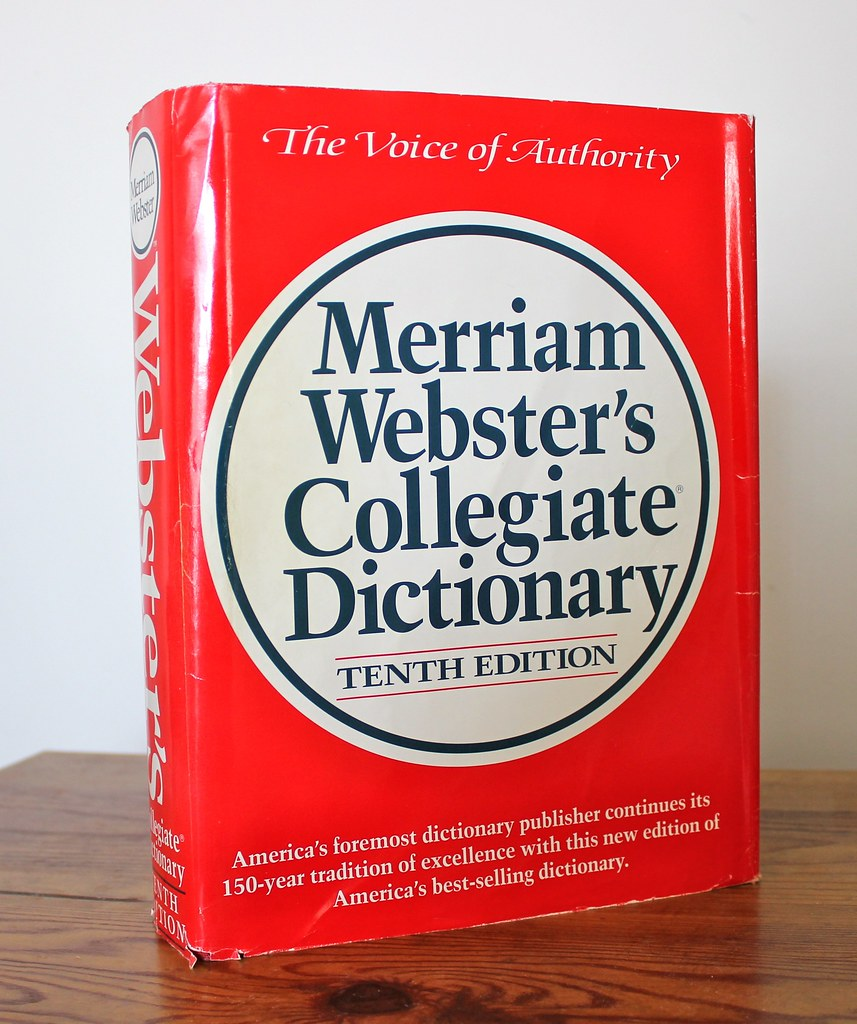 A description of merriam websters collegiate dictionary