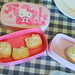 Hello Kitty home made white chocolates with honeycombe pieces