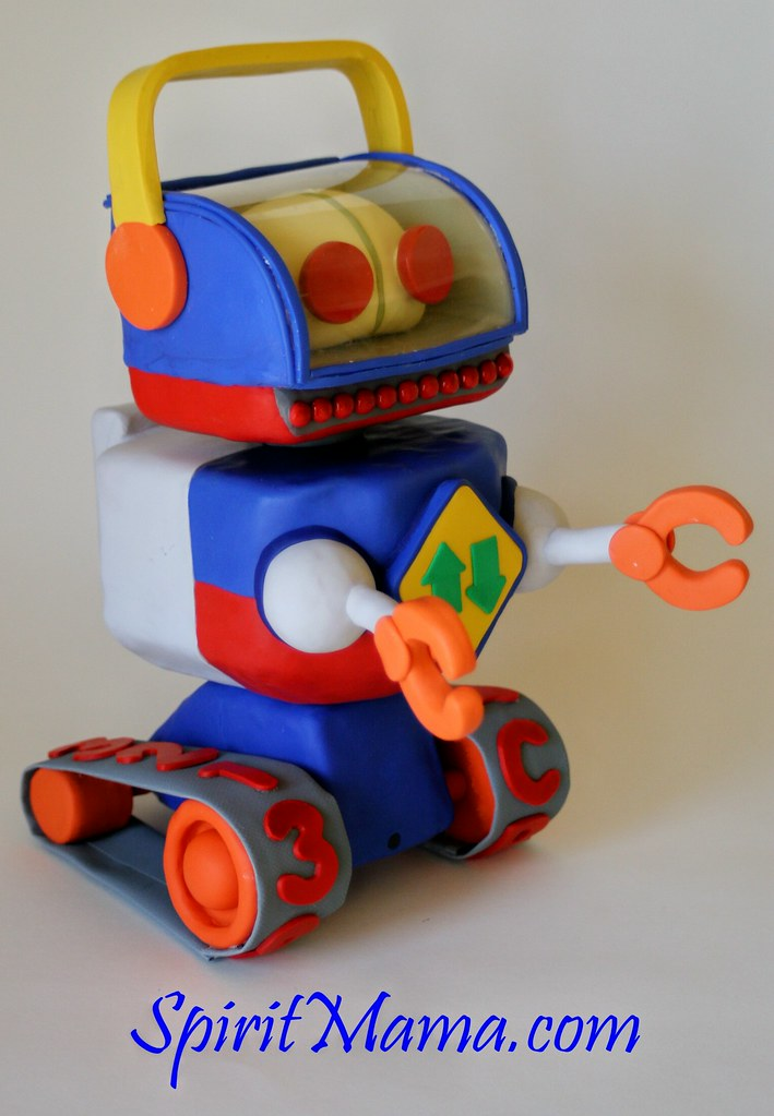 Toy Story Robot Sculpture | I Made Two Of These And They Tou2026 | Flickr