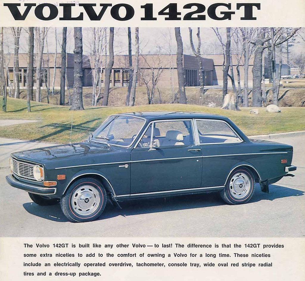 Volvo 142 Gt Brochure Canada Page 1a Yes There Was A 142