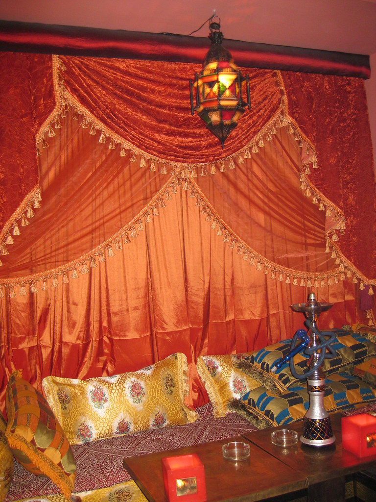 Curtains Moroccan Tea House