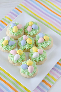 Easter Nest Sugar Cookies 3 | by Seeded at the Table