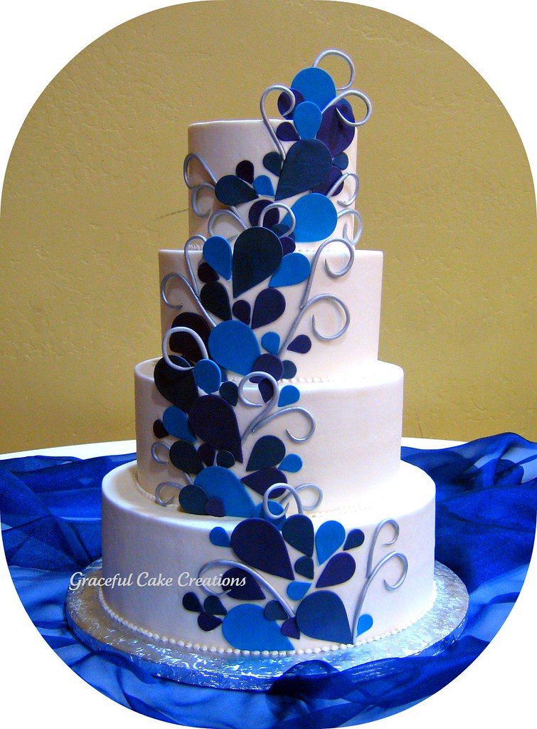 Peacock Wedding Cake Grace Tari Flickr