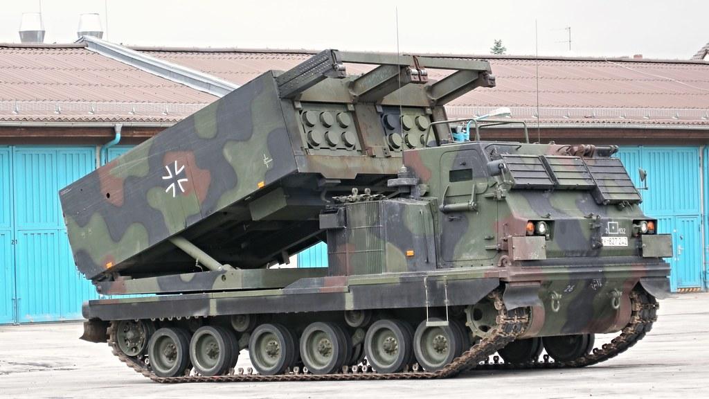 Raketenwerfer Mars Vorf 252 Hrung Am Tag Der Offenen T 252 R