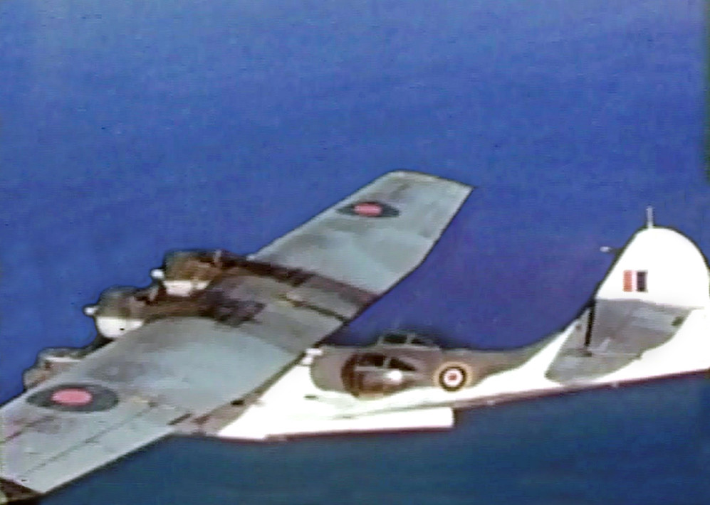 Pby Catalina A Cini Grab Of A Rcaf Catalina Or Canso