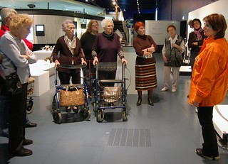 Senior citizens at the Ars Electronica Center | by Ars Electronica