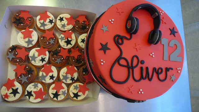 Beats By Dr Dre Headphone Cake Flickr Photo Sharing