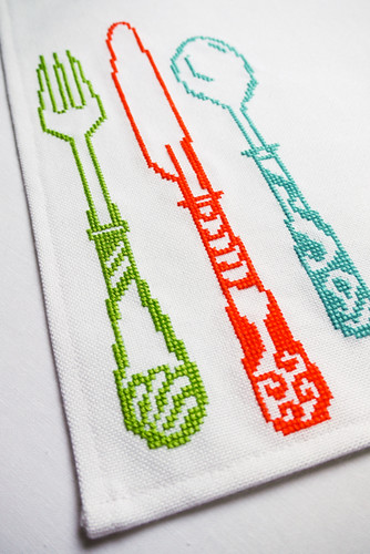 Cross Stitch: Fine Dining | by Sewing Daisies