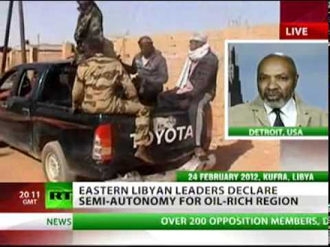 Abayomi Azikiwe, editor of the Pan-African News Wire, was featured on RT satellite television on March 6, 2012 speaking on the current situation in the North African state of Libya. The country has been under attack by imperialism for over a year. | by Pan-African News Wire File Photos