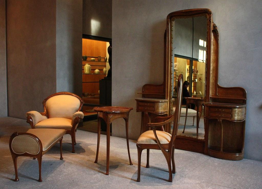 art nouveau furniture in mrs guimard s bedroom art nouveau furniture the antique warehouse blog