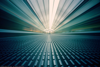 Pinhole- PDX moving walkway | by bodiegroup