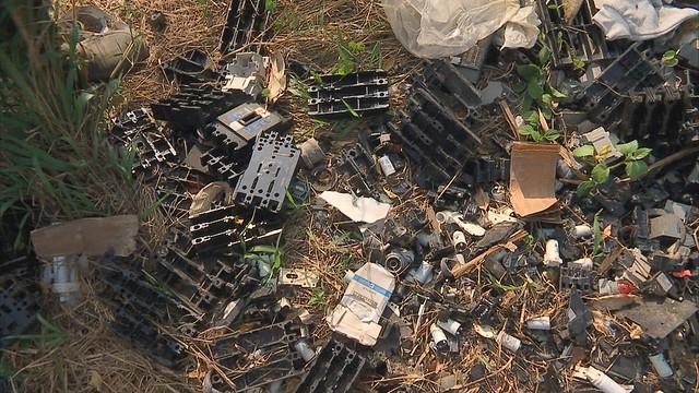 二仁溪污染事件可能在全省各地再度上演。照片來源:公共電視我們的島。