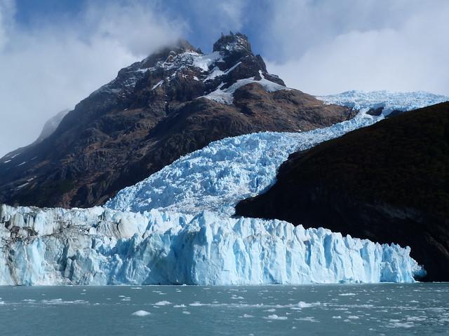 Glaciar Spegazzini en Patagonia argentina