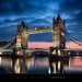 WInter sunrise on Tower Bridge, London