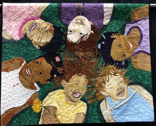 Friends: May Our Children Do Better Than We Did ~ Quilt by Dr. Susan Walen | by Pam from Calif