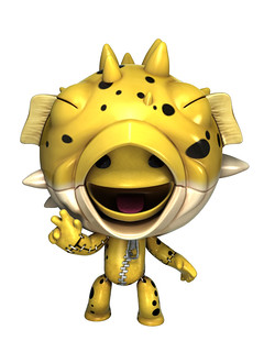 LittleBigPlanet 2: deep_sea_puffer_fish_3 | by PlayStation.Blog
