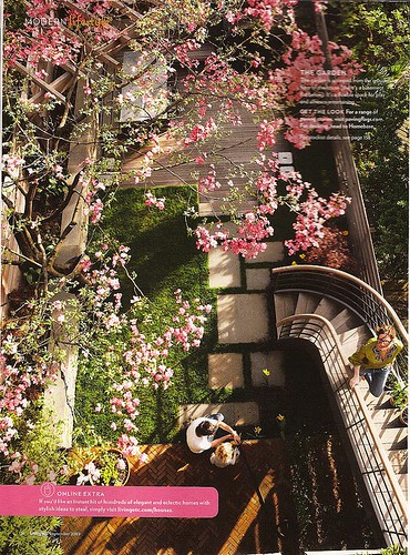 jenna lyons backyard | by The Estate of Things