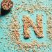 {n} is for nutmeg