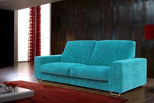 Sof granfort azul intenso flickr photo sharing for Muebles sanchez granada