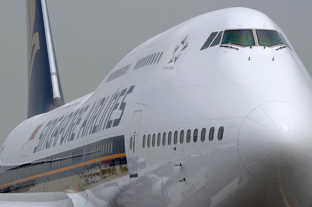 Singapore Airlines Boeing 747-400 (9V-SPQ) DSC0487 | Flickr