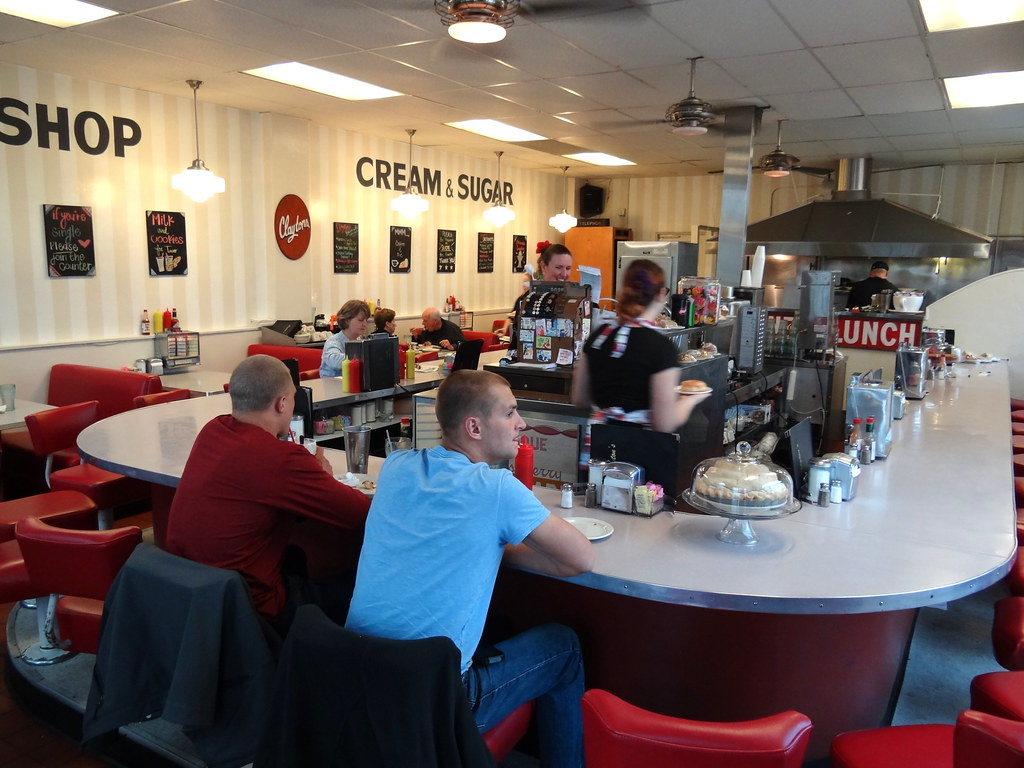 Interior Of Claytons Cafe Coronado Sango Ca Us