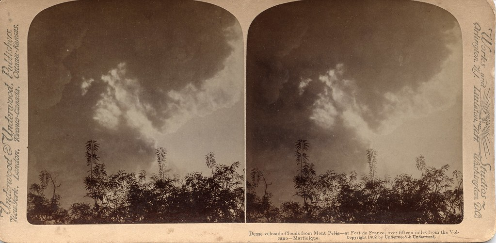 Dense Volcanic Clouds from Mont Pelee - At Fort de France ... - photo#25