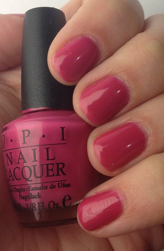OPI - Gel Color Manicure - Pink Flamenco | by AlliMcBally