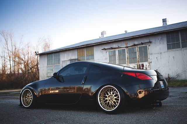 stanced nissan 350z wallpaper - photo #25
