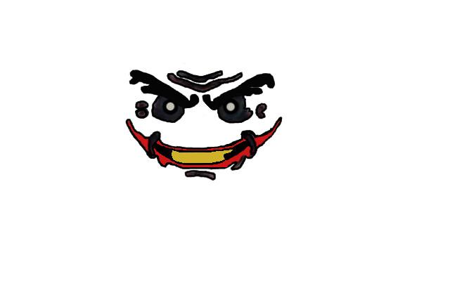 Lego Arkham City Joker Face Decal   Lego Joker Face Decal ...