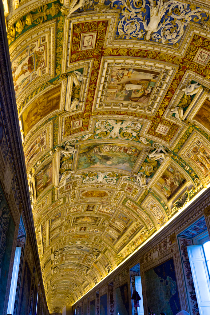 Vatican Museum Ceiling The Ceilings Of The Walkways And
