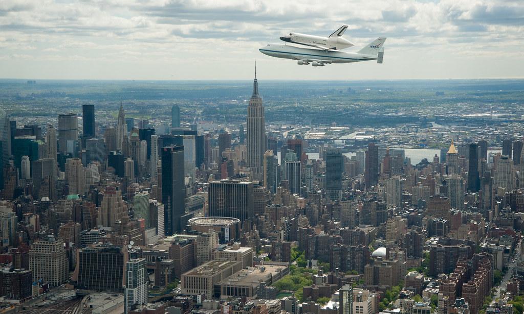 Shuttle Enterprise Flight to New York (201204270024HQ ...