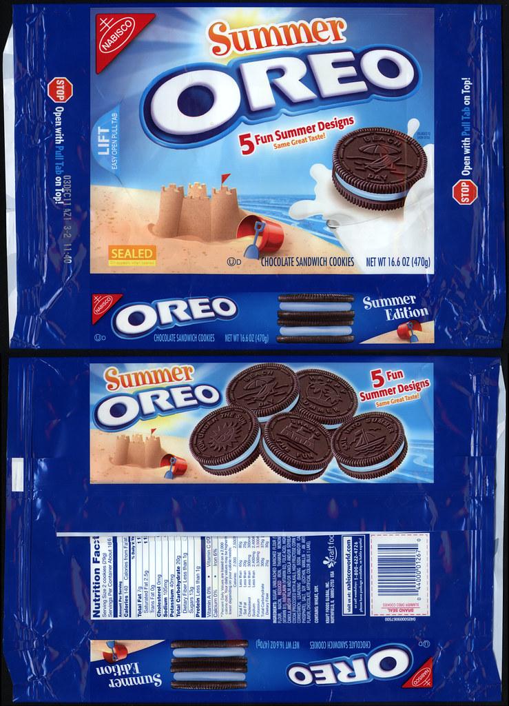 nabisco - oreo - summer - cookie package